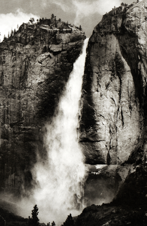 Lower Falls, Yosemite - by Jon Lybrook