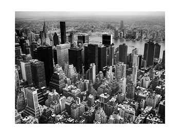New York City Skyline - Photogravure Print by Paul Richards