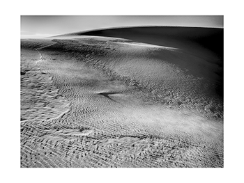 San Dunes - Photogravure Print by Paul Richards